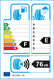 etichetta europea dei pneumatici per achilles Desert Hawk H/T 2 225 55 18 98 V