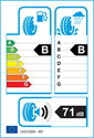 etichetta europea dei pneumatici per Altenzo Navigator 235 55 18