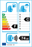 etichetta europea dei pneumatici per Antares Grip 20 245 55 19 103 T C