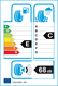 etichetta europea dei pneumatici per Apollo Alnac 4G Winter 185 65 14 86 T