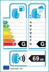 etichetta europea pneumatici atlas Green 4S 205 55 16 91 V 3PMSF M+S