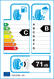 etichetta europea dei pneumatici per BF Goodrich G-Force Winter 2 215 55 16 93 H B C