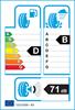etichetta europea dei pneumatici per BF Goodrich G-Force Winter 2 175 65 15 84 T B