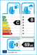 etichetta europea dei pneumatici per BF Goodrich G-Force Winter2 Suv 215 65 16 102 H 3PMSF M+S XL