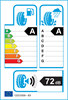 etichetta europea dei pneumatici per Bridgestone Alenza 001 255 55 18 109 W * BMW XL