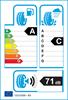 etichetta europea dei pneumatici per Bridgestone Alenza 001 225 60 18 104 W * BMW XL