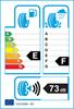 etichetta europea dei pneumatici per Bridgestone Blizzak Dm-V2 275 65 17 115 R FSL MFS