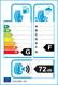etichetta europea dei pneumatici per bridgestone Blizzak Dm-V2 215 60 17 96 S 3PMSF M+S