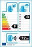 etichetta europea dei pneumatici per Bridgestone Blizzak Lm-25 195 60 16 89 H MO