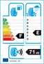 etichetta europea dei pneumatici per Bridgestone Blizzak Lm-25 205 50 17 89 H BMW RUNFLAT