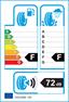etichetta europea dei pneumatici per bridgestone Blizzak Lm25v 225 45 19 92 V