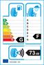 etichetta europea dei pneumatici per Bridgestone Blizzak Lm-25 235 70 16 106 T