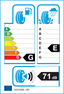 etichetta europea dei pneumatici per Bridgestone Blizzak Lm-30 195 50 15 82 T 3PMSF E G M+S