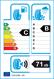 etichetta europea dei pneumatici per Bridgestone Blizzak Lm001 225 45 18 91 H 3PMSF FR M+S MO