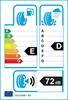 etichetta europea dei pneumatici per Bridgestone Blizzak Lm25 245 45 18 96 V * 3PMSF BMW FR M+S RunFlat