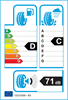 etichetta europea dei pneumatici per Bridgestone Blizzak Lm32 205 55 16 91 H 3PMSF AO