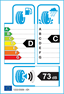 etichetta europea dei pneumatici per Bridgestone Blizzak Lm80 Evo 255 50 20 109 H 3PMSF AO M+S XL