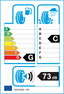 etichetta europea dei pneumatici per Bridgestone Blizzak W800 175 75 14 99 T M+S