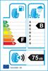 etichetta europea dei pneumatici per Bridgestone Blizzak W810 185 75 16 104 R C