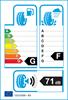 etichetta europea dei pneumatici per Bridgestone Blizzak Ws 80 215 50 17 95 H XL