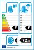 etichetta europea dei pneumatici per Bridgestone Blizzak Ws80 245 45 17 99 H 3PMSF XL