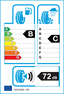 etichetta europea dei pneumatici per Bridgestone Dueler A/T 693 Ii 265 55 19 109 V