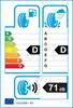 etichetta europea dei pneumatici per Bridgestone Dueler H/L 400 235 60 17 102 V M+S MO