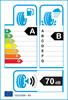 etichetta europea dei pneumatici per Bridgestone Dueler H/P Sport 215 60 17 96 H B C