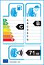 etichetta europea dei pneumatici per Bridgestone Dueler H/P Sport 255 60 18 112 H B C XL