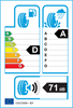 etichetta europea dei pneumatici per Bridgestone Dueler H/P Sport 235 60 18 103 W AO