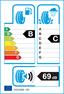 etichetta europea dei pneumatici per bridgestone Ecopia Ep150 185 65 15 88 H DEMO