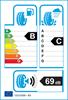 etichetta europea dei pneumatici per Bridgestone Ecopia Ep150 185 55 15 82 H VW