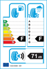 etichetta europea dei pneumatici per Bridgestone Noranza 001 225 55 16 99 T 3PMSF STUDDED XL