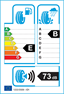etichetta europea dei pneumatici per Bridgestone Potenza Re050 Ecopia 255 45 18 99 Y MO