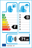 etichetta europea dei pneumatici per Bridgestone Potenza Re050 I 225 50 17 94 Y