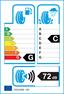 etichetta europea dei pneumatici per Bridgestone Potenza Re050a 245 40 18 93 W BMW RUNFLAT