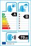 etichetta europea dei pneumatici per Bridgestone T005 205 60 16 96 W BMW