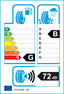 etichetta europea dei pneumatici per Bridgestone T005 225 45 17 91 Y AO