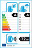 etichetta europea dei pneumatici per Bridgestone Turanza T005 255 60 18 112 V XL