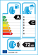 etichetta europea dei pneumatici per Cheng Shan Csc5 225 45 17 94 W XL