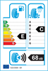 etichetta europea dei pneumatici per Compasal Grandeco 165 70 12 77 T M+S