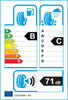 etichetta europea dei pneumatici per Continental Conticrosscontact Uhp 235 55 19 105 W B C XL