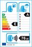 etichetta europea dei pneumatici per Continental Conticrosscontact Uhp 285 35 22 106 W XL
