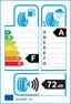 etichetta europea dei pneumatici per continental Conticrosscontact Uhp 235 55 17 99 H FR