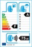etichetta europea dei pneumatici per continental Conticrosscontact Uhp 295 45 19 109 Y FR MO
