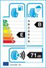 etichetta europea dei pneumatici per Continental Contiecocontact 3 175 65 14 86 T XL