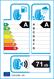 etichetta europea dei pneumatici per Continental Contiecocontact 6 215 65 16 98 H DEMO