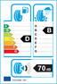 etichetta europea dei pneumatici per Continental Contipremiumcontact 275 50 19 112 W FR MO XL