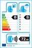 etichetta europea dei pneumatici per Continental Contivancontact 200 205 65 15 99 T XL