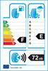 etichetta europea dei pneumatici per Continental Contiwintercontact Ts 830 P 245 45 18 100 V XL
